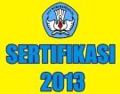 sertifikasi 2013